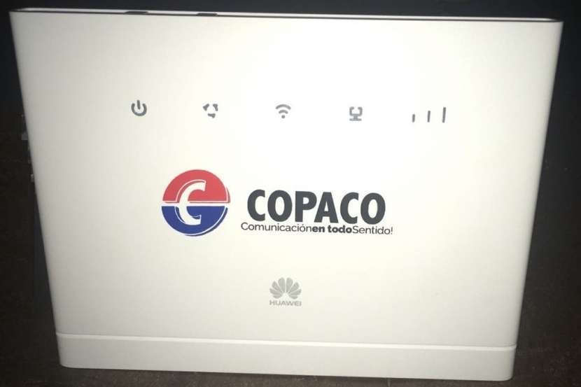 Huawei B315 4G LTE 5 puertos Wi-fi 802.11b/g/n/ac - 1