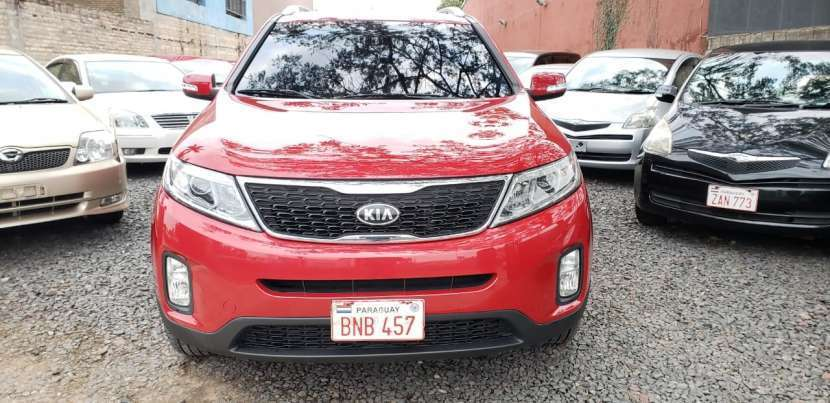 Kia sorento 2013 color rojo - 1