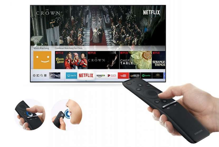 Smart TV Samsung 55 pulgadas 4K nuevas - 1
