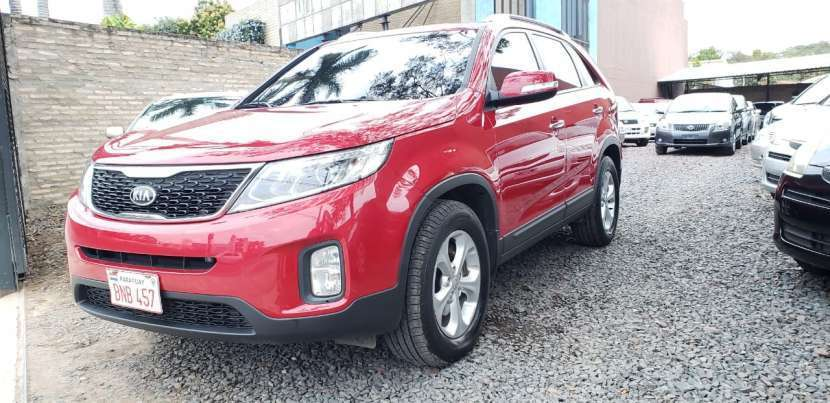 Kia sorento 2013 color rojo - 0
