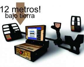 Rastreador Buscador 3D scanner de suelo Oro Tesoro Metales