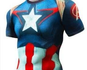 Remeras héroes de Marvel