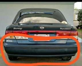 Paragolpe trasero Nissan Sunny b15