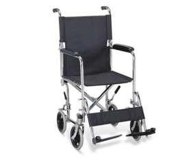 Silla de ruedas de transporte, ideal para casa, hospitales