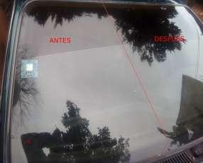 Limpieza de vidrios quita lluvia ácida a domicilio