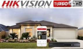 Kit 4 cámaras hikvision instaladas garantía 18 meses