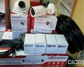 Kit de cámaras Hikvision sin instalación
