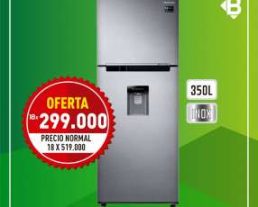Heladera Samsung FS Inox 350 litros