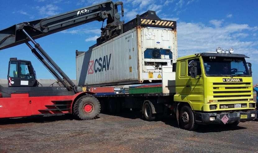 Servicio de flete de contenedores y carga general
