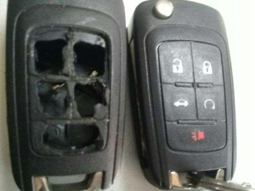 Carcasa de control remoto Chevrolet - 0