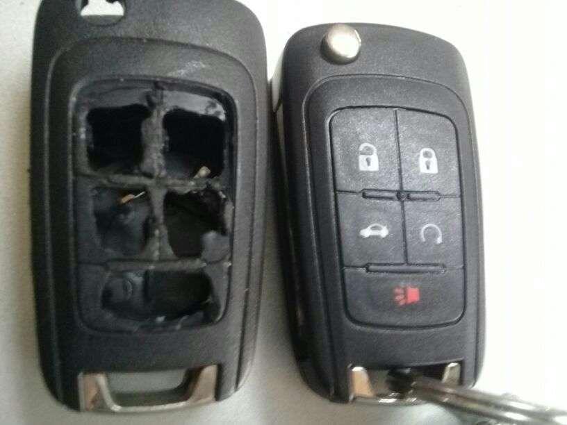 Carcasa de control remoto Chevrolet - 1