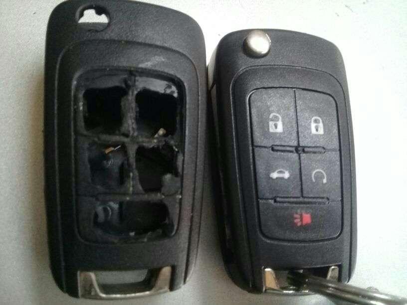 Carcasa de control remoto Chevrolet - 2
