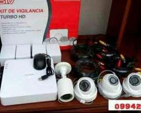 Kit de cámaras de seguridad completo