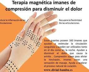 Guantes magneticos para la artritis