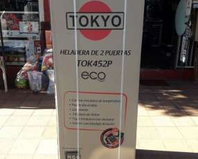 Heladera Tokyo inoxidable de 450 litros con dispenser frío seco