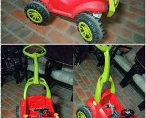 Auto a pedal usado para niño