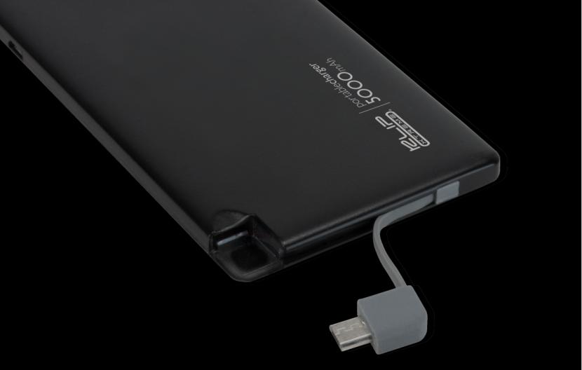 Cargador de batería portátil - 5000 mAh