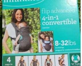 Canguro convertible para bebe - mochila porta bebe