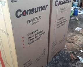 Congelador vertical 250 litros