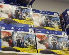 Playstation 4 Slim de 500 gb y 3 juegos de regalo