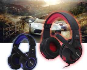 Auricular gamer usb con luces led Kolke KGA-161