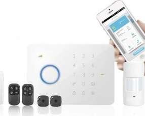 Alarmas con discador GSM y cámaras de seguridad