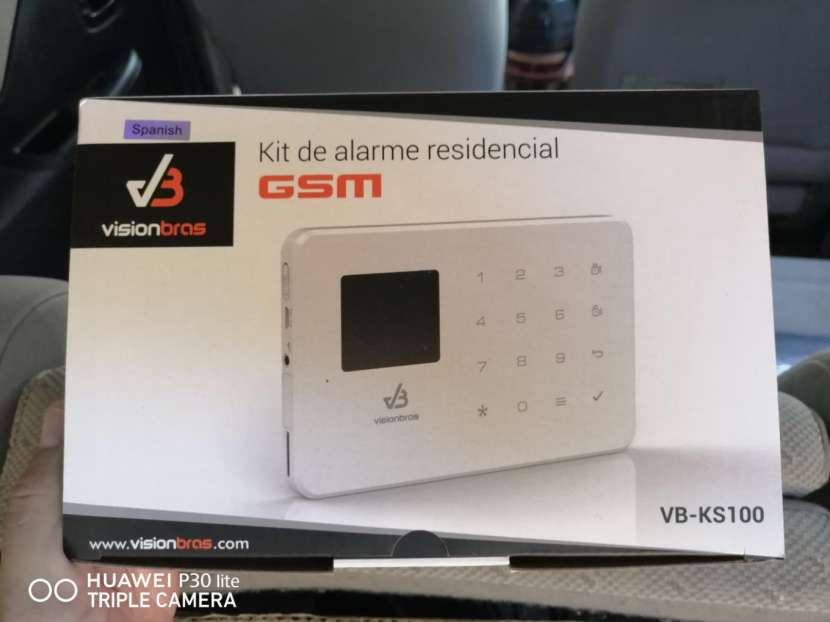 Sistema de alarma sensores de rotura de vidrio, humo , gas - 0