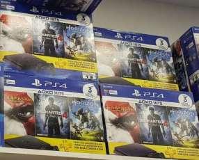 PlayStation 4 Slim de 1 tera y 3 juegos de regalo