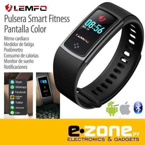 Pulsera Smart Fitness LCD Color LEMFO - 0