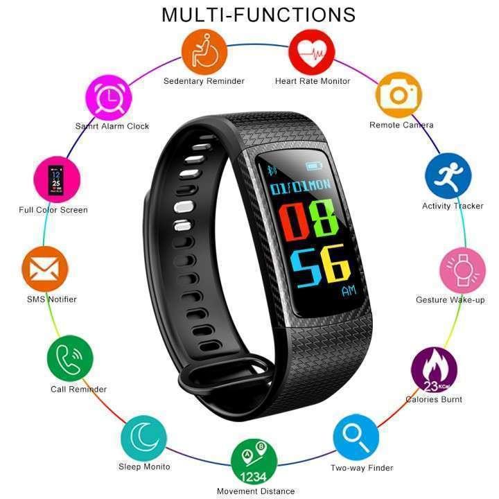 Pulsera Smart Fitness LCD Color LEMFO - 6