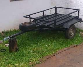 Trailer carrito de remolque para 2000 kilos