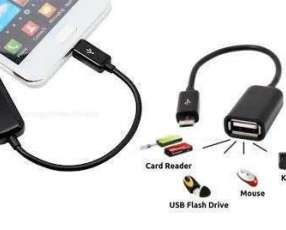 Adaptador OTG USB