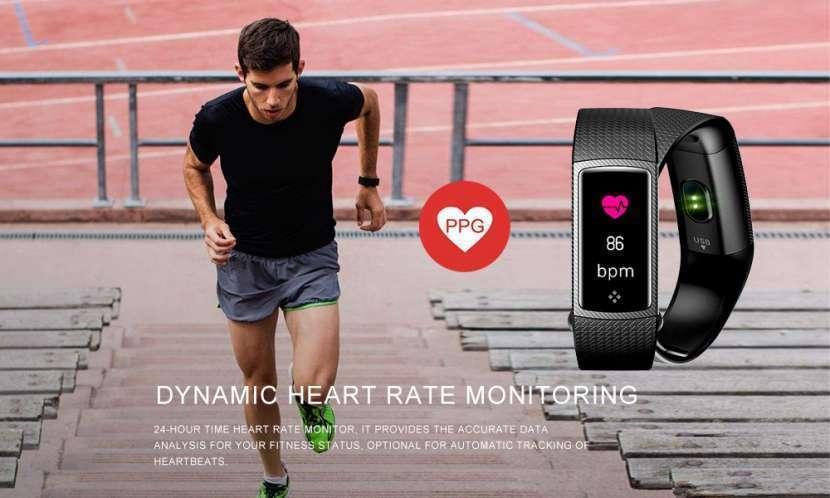 Pulsera Smart Fitness LCD Color LEMFO - 7