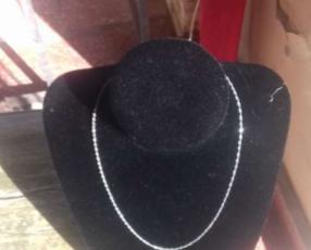 Cadena de plata femenino