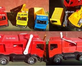 Camiones grúa de juguete