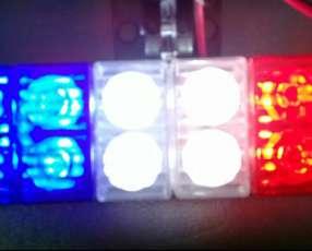 Luz led de emergencia, seguridad, señalización, electroboscopica