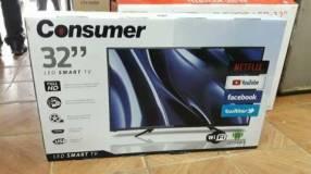 TV LED Smart full HD Consumer de 40pulgadas