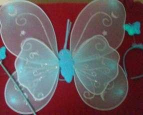 Disfraz de mariposa o hada