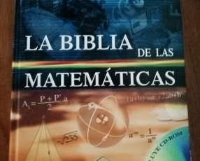 Libro la biblia de las matemáticas