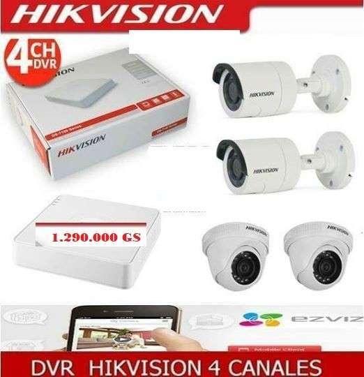 Circuito cerrado hikvision hd instalado - 0