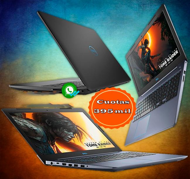 Laptop dell intel core i7-8750h 8ª generación