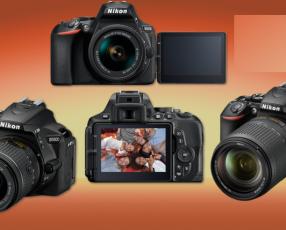 Nikon D5600 - Cámara réflex de 24.2 MP (pantalla táctil d