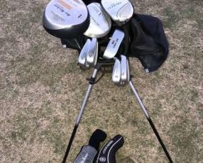 Juego palos de golf niños US-Kids