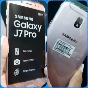Samsung Galaxy J7 Pro 32 gb rosa más protectores antishok de regalo