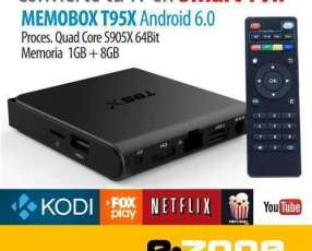 Convertidor Smart TV Android 6.0 T95x