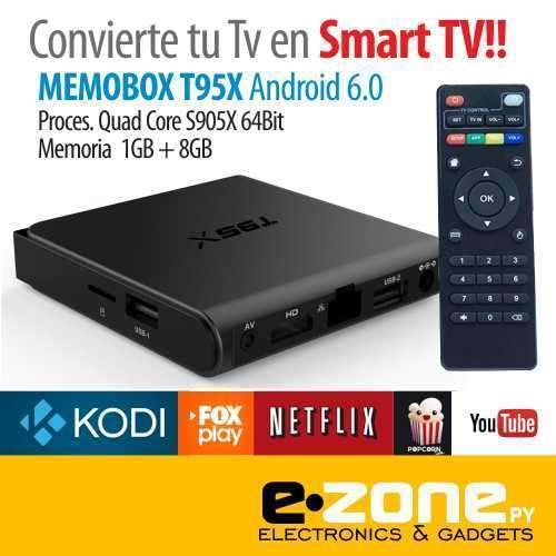 Convertidor Smart TV Android 6.0 T95x - 0