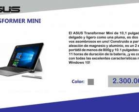 Notebook Asus Transformer Mini