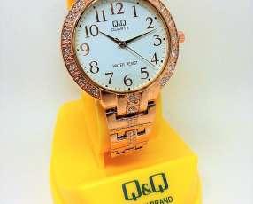 Reloj Q&Q oro rosa
