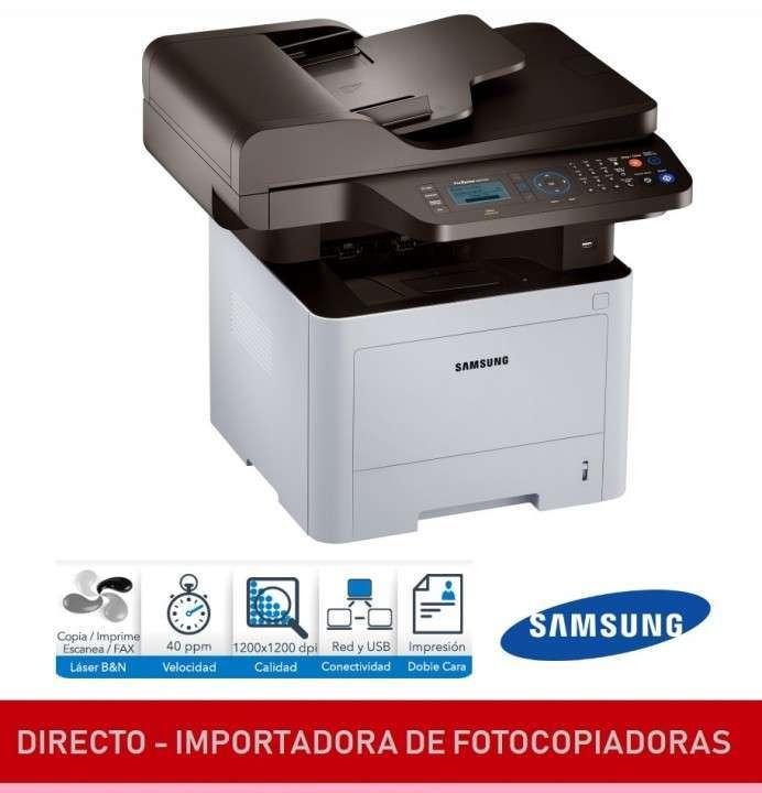 Fotocopiadora e impresora Samsung oficio - 2