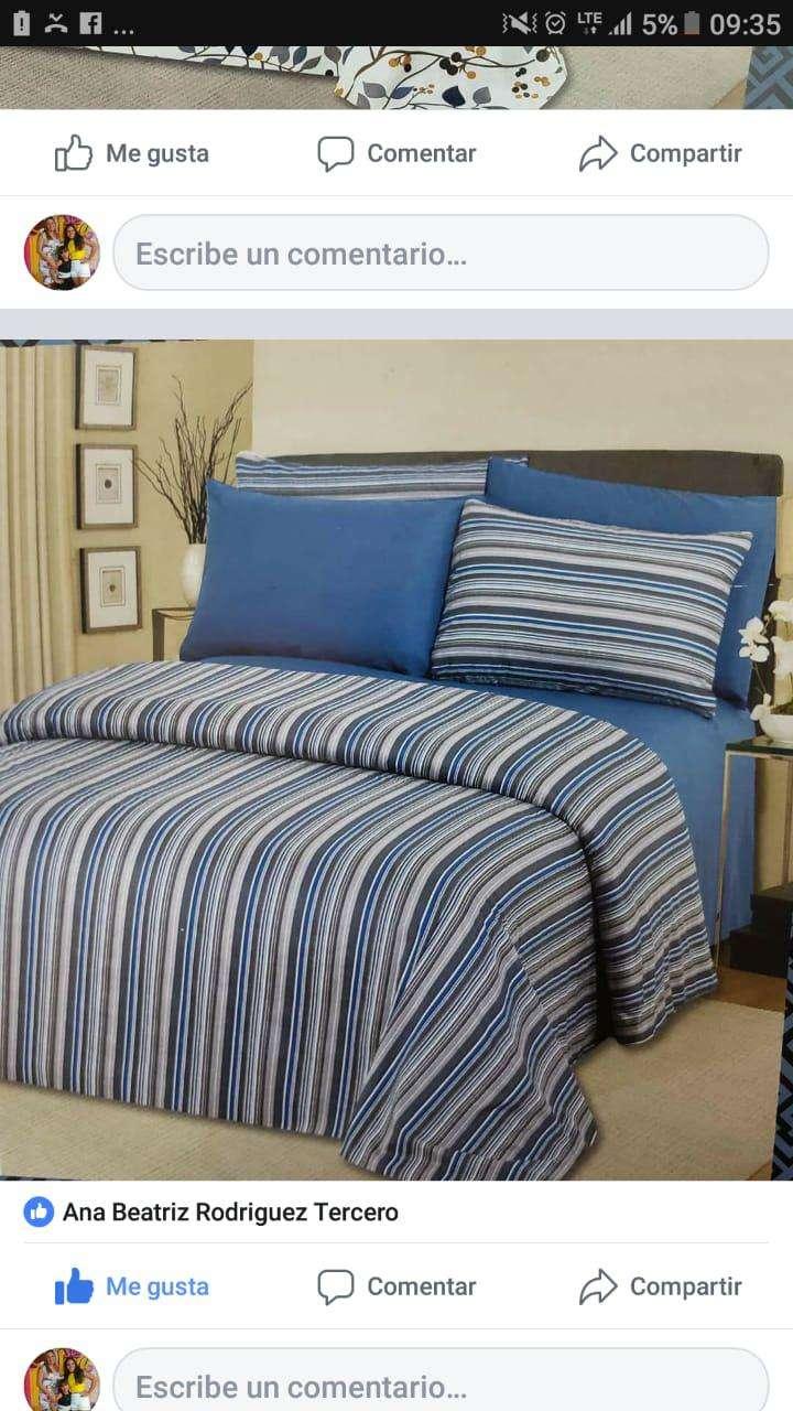 Juegos de sábanas con 4 fundas 100% algodón